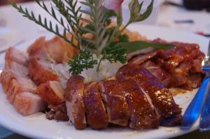 Roast Pork, BBQ Pork, Roast Chicken, Pickled Jellyfish