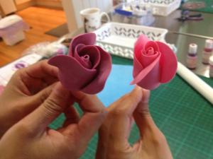 Half Sugar Roses