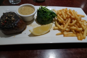 Steak Au Poivre ($29)