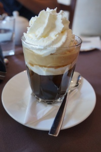 Vienna Coffee - double shot espresso with whipped cream