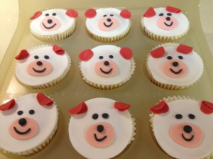 Dogs Cupcakes