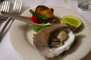 Oysters & Grilled Moreton Bay Bug Tail
