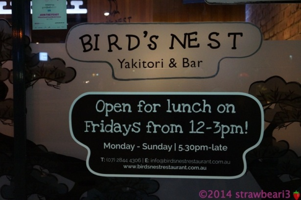 Bird's Nest Yakitori