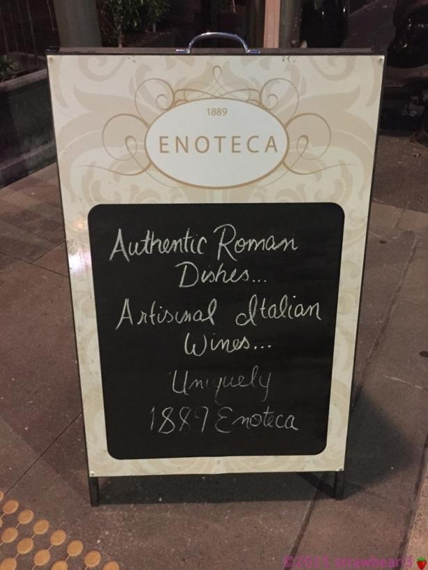 1889 Enoteca