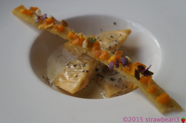 Roasted Pumpkin & Chestnut Agnolotti